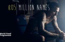 Zlatan se fait tatouer 50 noms contre la faim dans le monde