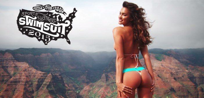 Vidéo + photos : Irina Shayk sexy pour Sports Illustrated 2015