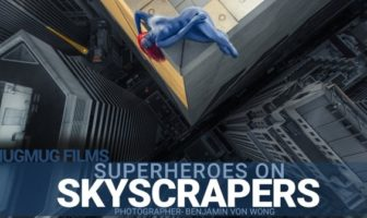 Superheroes on Skyscrapers par Benjamin Von Wong