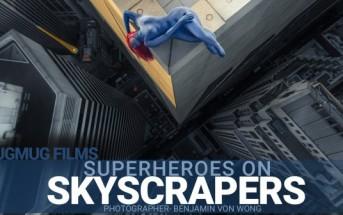 Des photos de super-héros réels perchés sur des gratte-ciels
