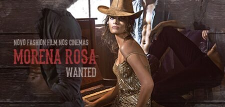 "isabeli fontana en cow-girl sexy dans ""morena rosa wanted"""