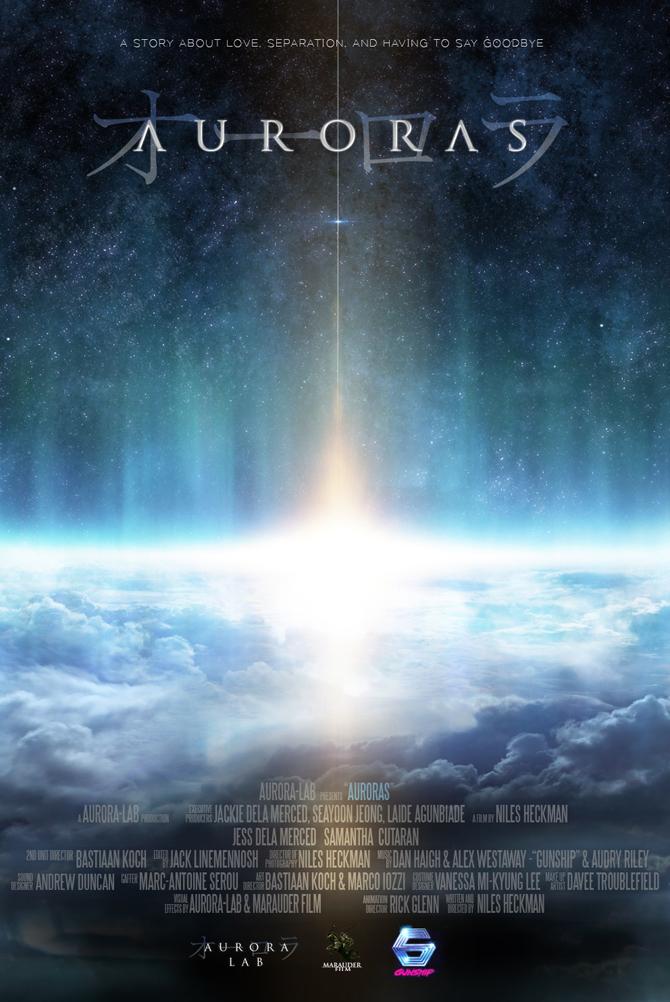 Auroras de Niles Heckman : poster