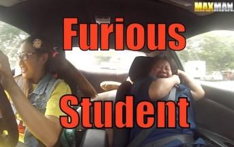 Caméra-cachée : une drifteuse piège des moniteurs d'auto-école