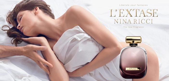 Laetitia Casta nue dans la pub Nina Ricci 2015 du parfum L'extase