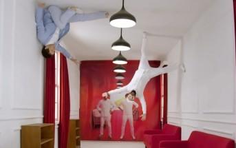 OK Go défie la gravité pour un magasin de meubles chinois