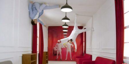 OK Go dans la pub Red Star Macalline