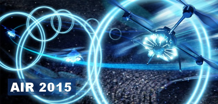 air 2015 : le spectacle de drones
