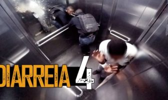 Diarrhée dans un ascenseur, la caméra cachée