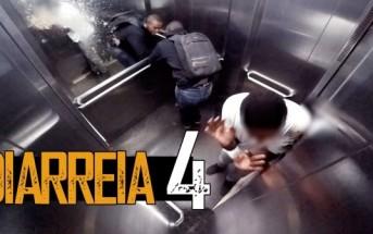 Caméra cachée scato : il a une diarrhée explosive dans un ascenseur