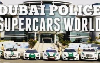 La police de Dubaï se fait plaiz' avec des voitures surpuissantes
