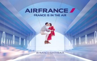 Chorégraphie de balançoires dans la pub Air France 2015