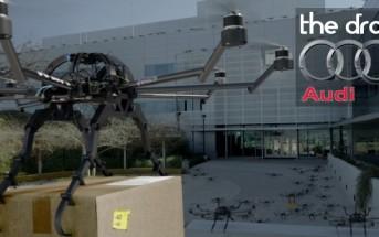 """Remake des """"oiseaux"""" de Hitchcock avec des drones par Audi"""