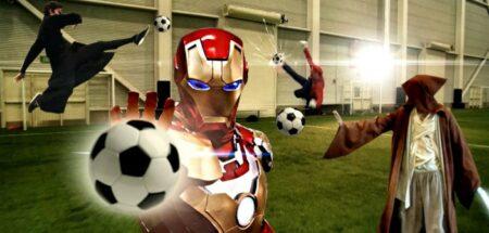 superhero soccer par Ronnie Shalvis