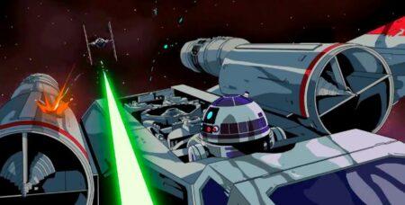 Court-métrage TIE Fighter : le manga d'animation star wars