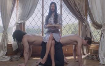 L'homme devient esclave des femmes dans ce fashion film Rhié
