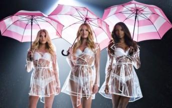 Vidéo : les anges Victoria's Secret sexy sous leurs parapluies