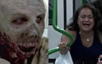Seuls dans le métro ils se font attaquer par des zombies