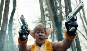 parodie de Bambi avec Dwayne Johnson