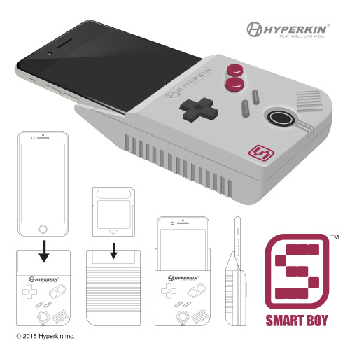 Poisson d'avril 2015 : Smartboy transforme un iPhone 6 en Game-Boy par hyperlink
