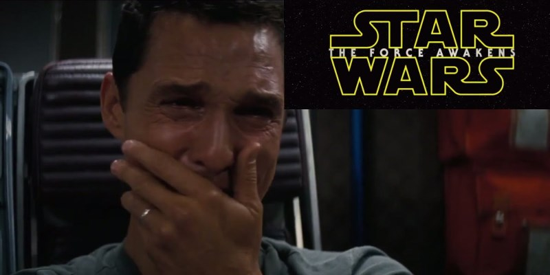 star wars vs interstellar mashup avec Matthew Mcconaughey