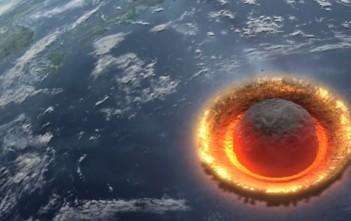 Vidéo : un astéroïde géant entre en collision avec la Terre