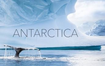 Découvrez la splendeur de l'Antarctique vu du ciel en drone