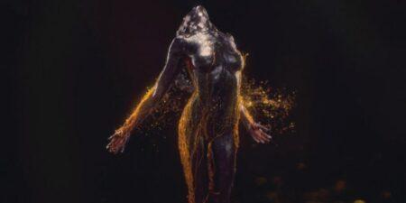 Daria Werbowy nue en déesse par Analog - Aaleph