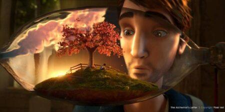 The Alchemist's Letter : court-métrage d'animation 3d