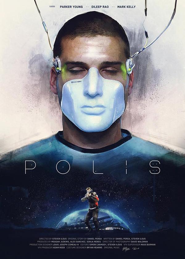 """affiche : """"Polis"""" de Steven Ilous"""