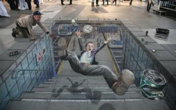 Humour : quand Régis tente de descendre des escaliers