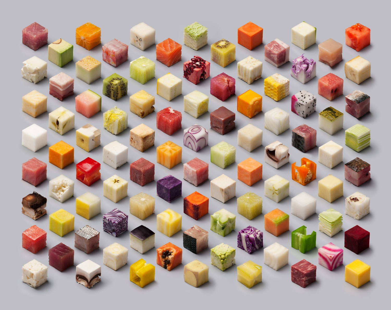 CUBES : la photo d'art culinaire par Lernert & Sander