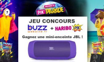 jeu concours buzzwebzine + haribo pik parade