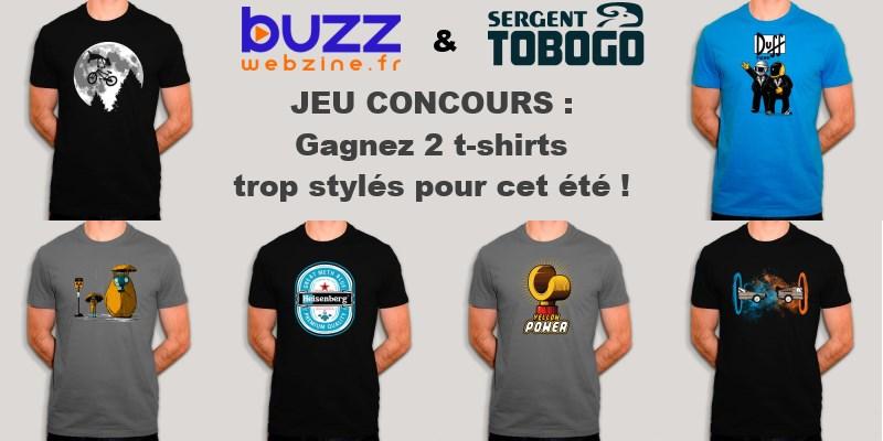 jeu concours buzzwebzine & sergent tobogo