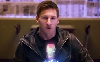 Lionel Messi devient Iron Man dans une pub Samsung + Avengers
