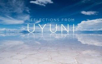 Reflections from Uyuni : timelapse de la mer de sel en Bolovie