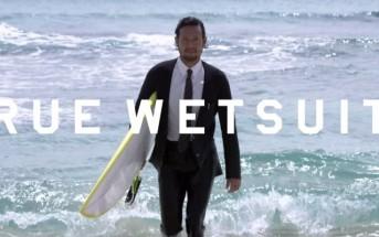 Quiksilver invente le costard waterproof pour surfeur