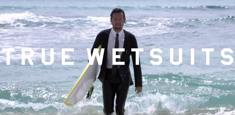 true wetsuits : le costard, costume, smoking de surf par quiksilver