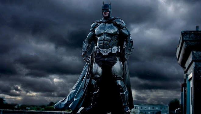Cosplay batman imprimé en 3d de Julian Checkley