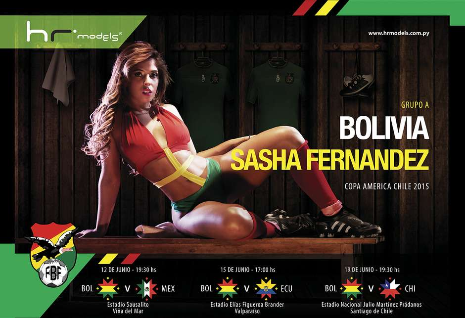 Bolivie : Sasha Fernandez
