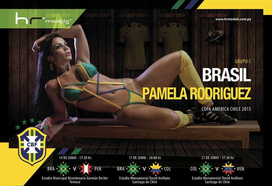 Brésil : Pamela Rodriguez