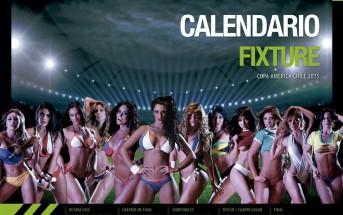Le calendrier sexy de la Copa America 2015 par HR Models