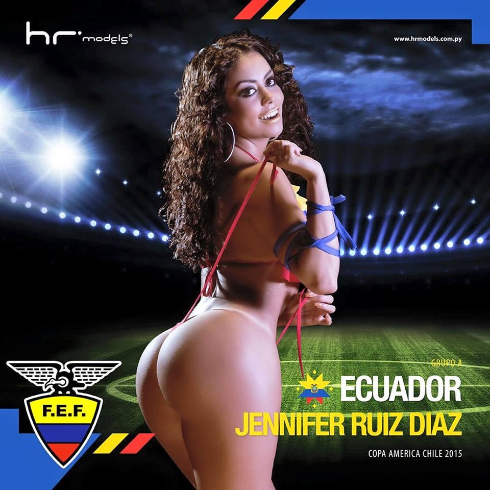 Equateur : Jennifer Ruiz Diaz