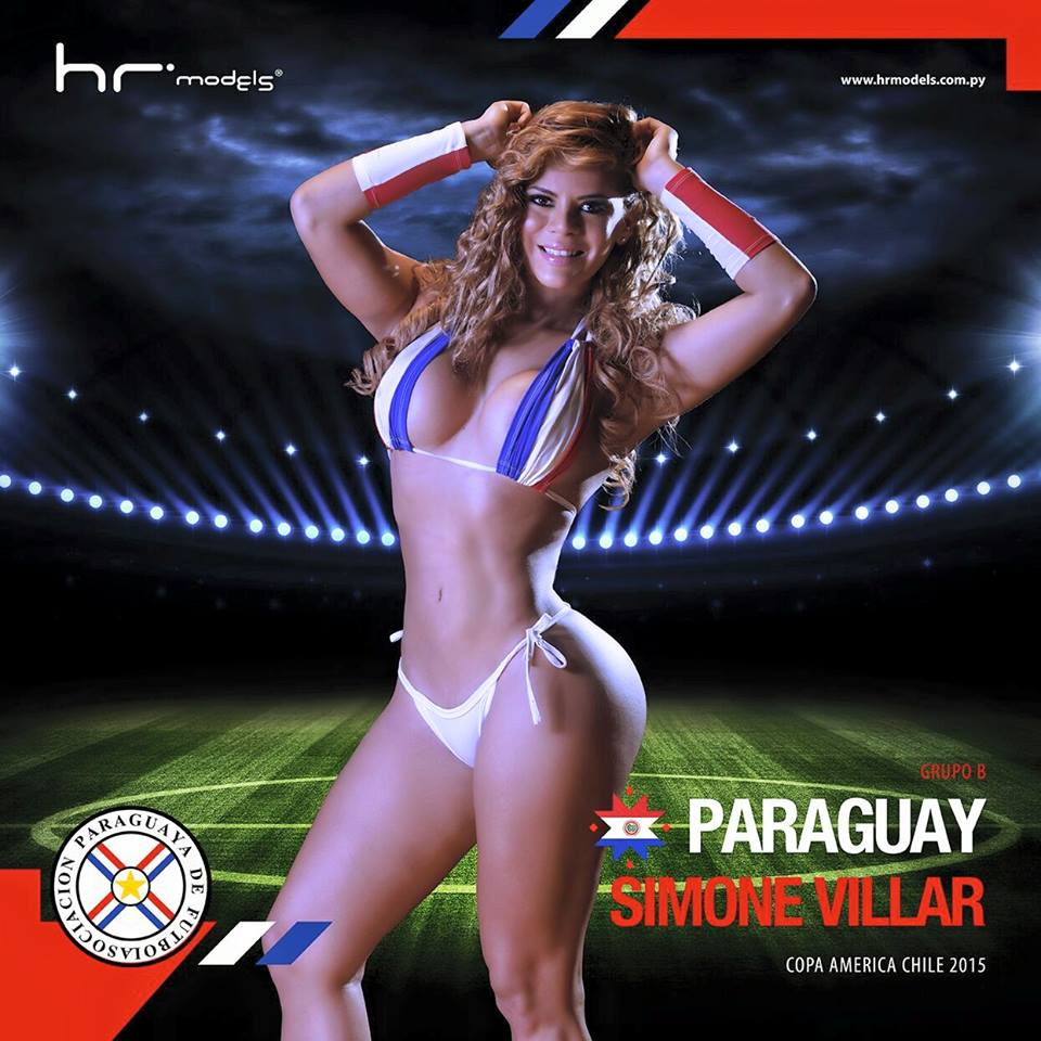 Paraguay : Simone Villar