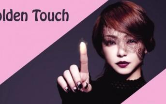 Golden Touch : le clip interactif qui joue avec votre doigt