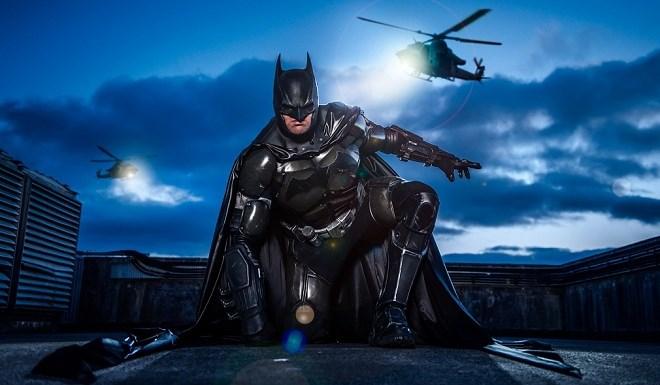 costume de batman réalisé en impression 3d