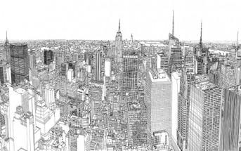 Colossus : il dessine New-York avec une précision incroyable