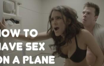 faire l'amour, du sexe en avion
