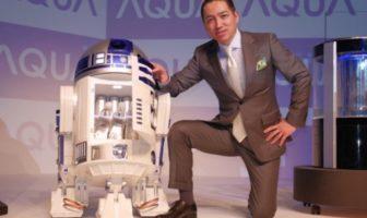 Frigo R2-D2 : un réfrigérateur radiocommandé Star Wars !