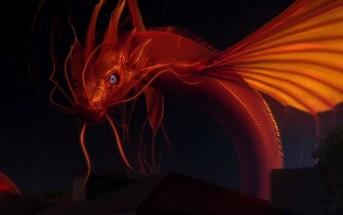 Pub peugeot 208 : un tatouage de dragon prend vie