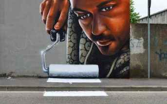 Le street art augmenté en 3D du graffeur italien Cheone
